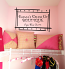 Name Dress Up Boutique Wall Decal