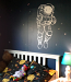 Astronaut Outline Wall Decal