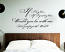 If I Lay Here Wall Decal