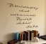 Beautiful Things World Felt With Heart Wall Decal
