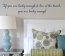 If You're Lucky Enough To Live At The Beach Wall Decal