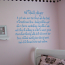 Softball Player Wall Decal