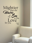 Waves of the Sea Wall Decal