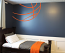 Basketball Lines Wall Decal LARGE
