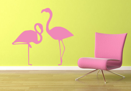 Flamingos Wall Decal