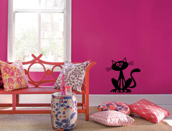 Kitty Wall Decal