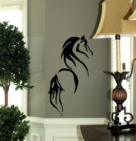 Stylized Horse Wall Decals