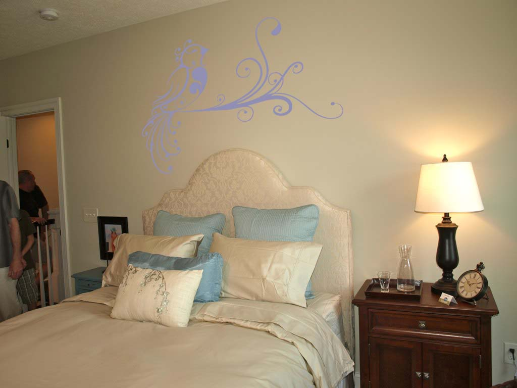 Flirty Bird Wall Decal
