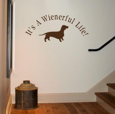 Wienerful Life Wall Decal