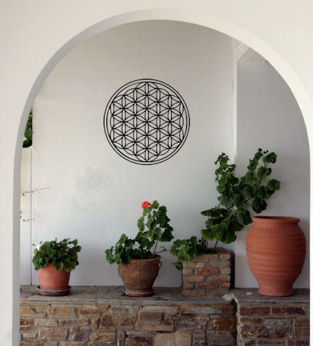 Flower Of Life Wall Decal