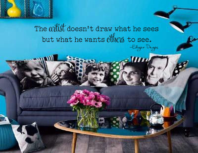 The Artist Doesn't Draw Wall Decals