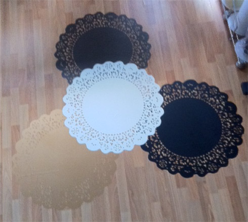 Doilies Wall Decal