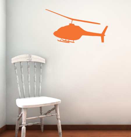 Helicopter 2 Wall Decals