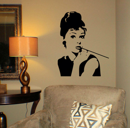 Audrey | Wall Decals