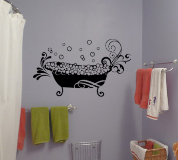Tub Wall Decal