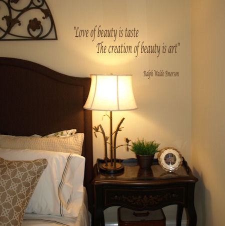 Love Of Beauty Creation Of Beauty Wall Decal