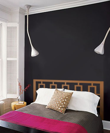 Rectangular Modern Headboard Decal