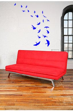 Birds In Flight Wall Decal