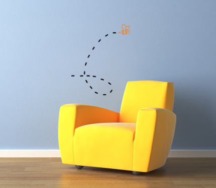 Bugs Bees Wall Decal
