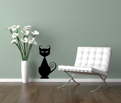 Cattitude Wall Decal