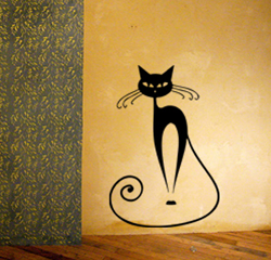 Cattitude 2 Wall Decal