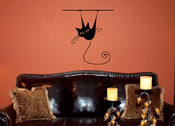 Hanging Around Wall Decal