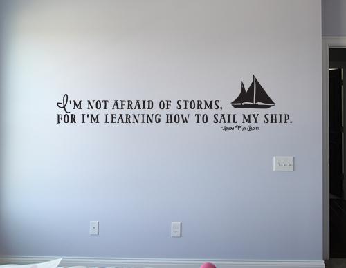 Sail My Ship Decal