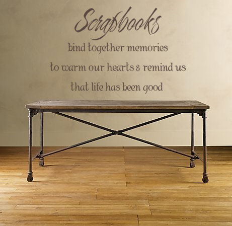 Scrapbooks Wall Decal
