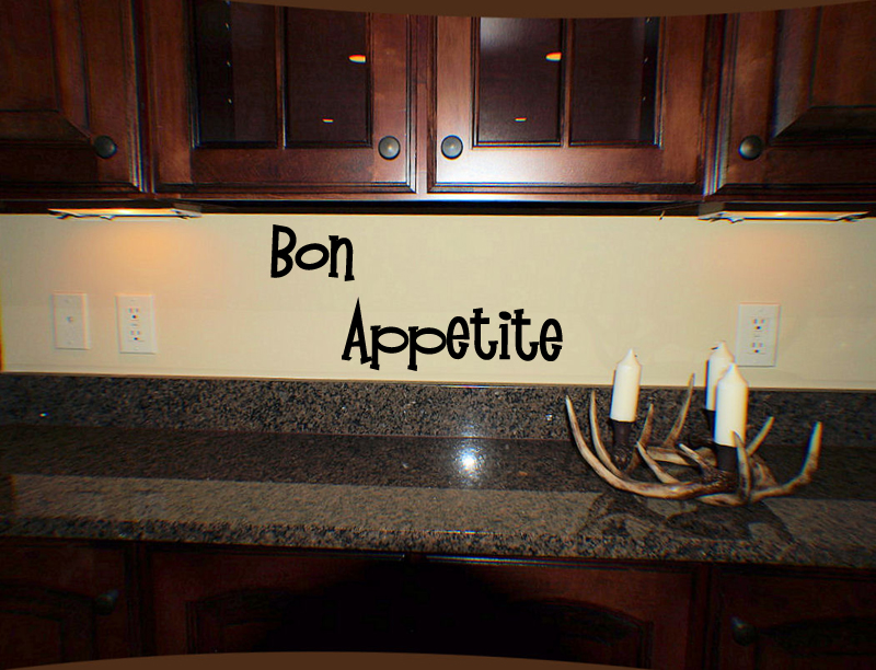 Bon Appetite Wall Decal
