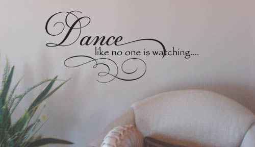 Dance Like Wall Decal