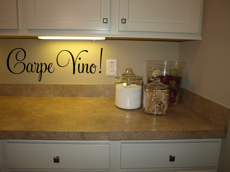 Carpe Vino! Wall Decal