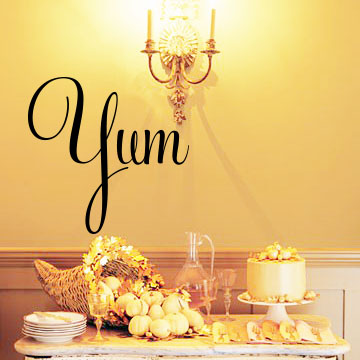 Yum Large Wall Decals