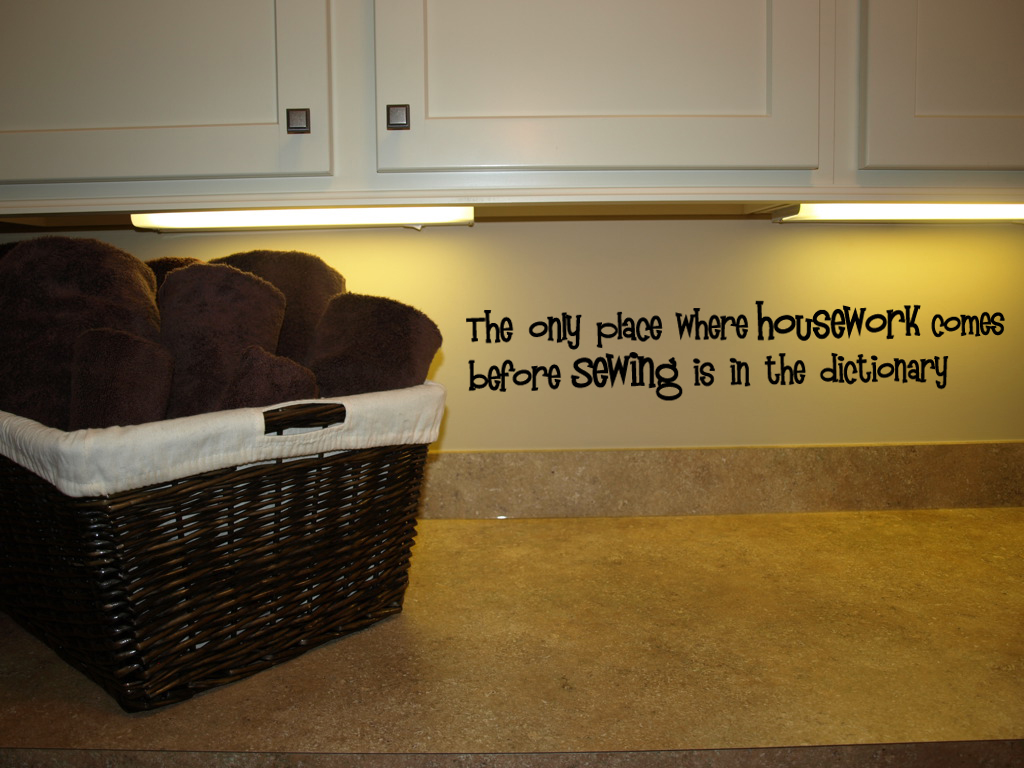Sewing Dictionary   Wall Decals