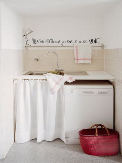 When Life Throws You Scraps Wall Decal