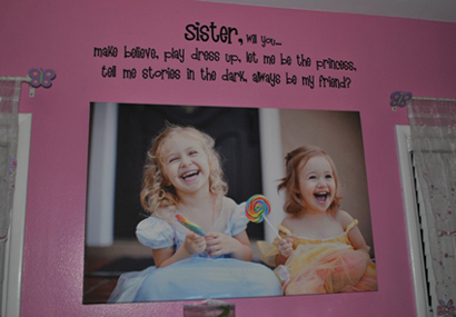 Sister Wall Decals