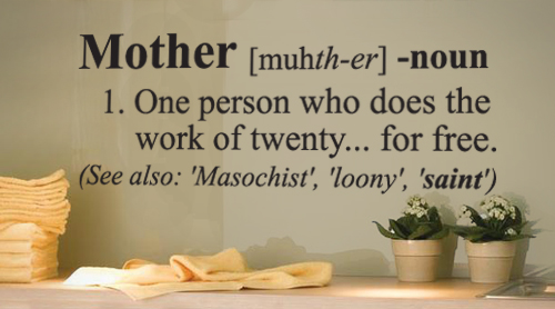 Mother Definition Wall Decal