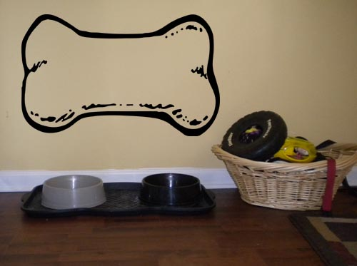 Dog Bone Wall Decal