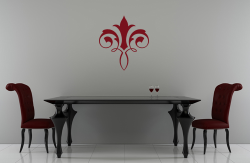 French Embellishment Wall Decal