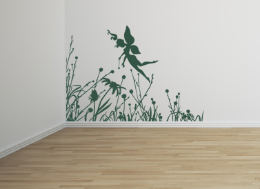Fairy Flowers | Wall Decals
