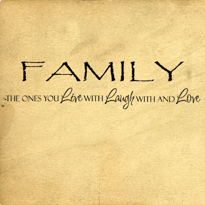 Family Live Laugh Love | Wall Decals