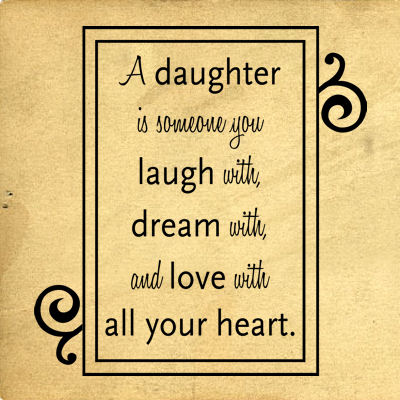 A Daughter Is Someone Wall Decals