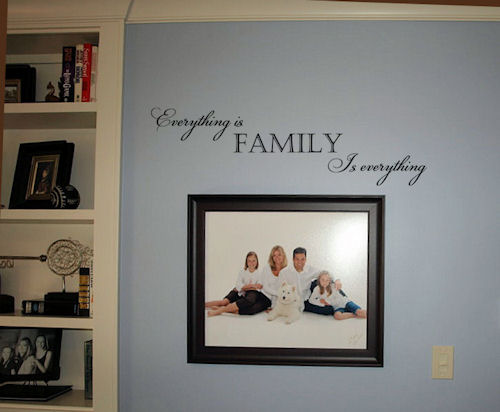 Family is Everything2 Wall Decal