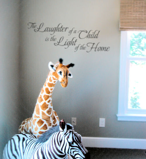 Laughter of a Child Wall Decal