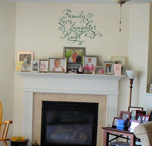 Family Hugs Wall Decal