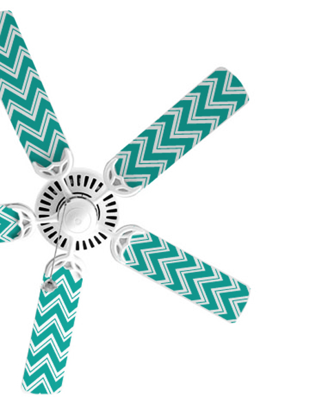 Chevron Fan Blade Decals