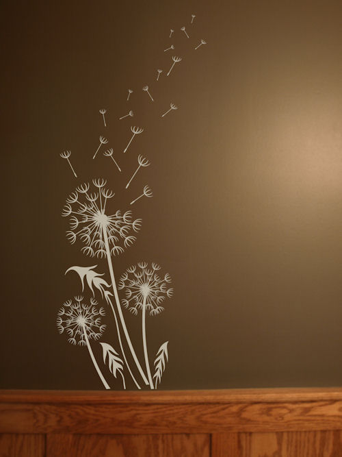 Dandelion Breeze Artistic Wall Decal
