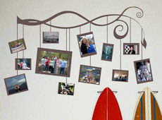 Shorter Photo Branch Wall Decal
