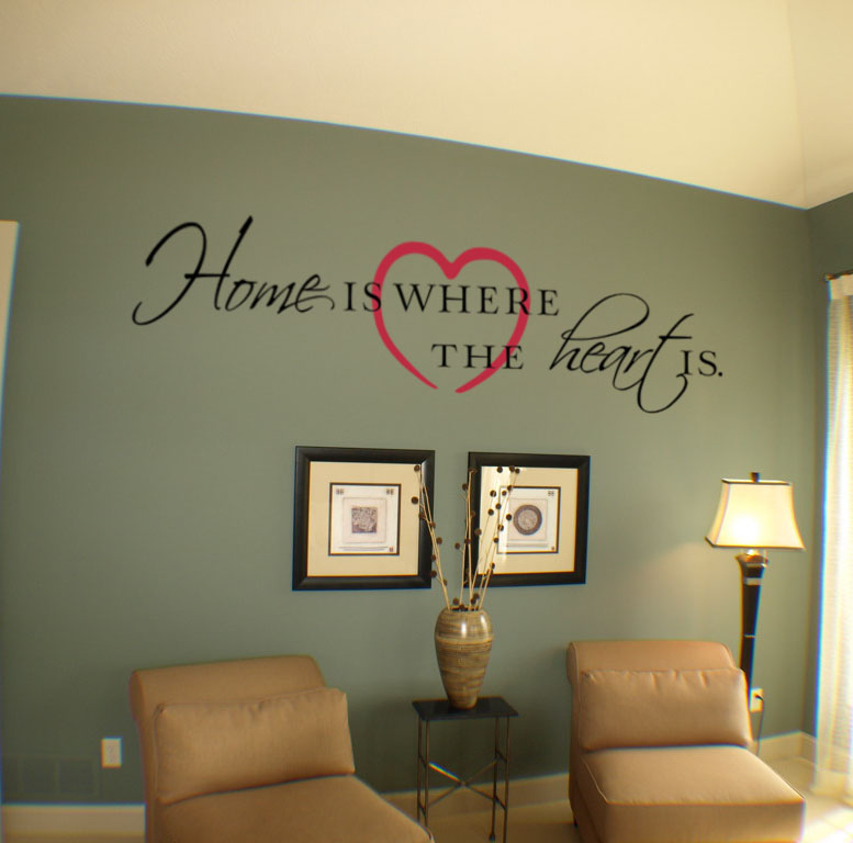Home Where Heart Is Decal