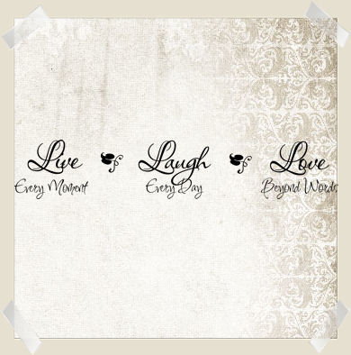 Live Laugh Love Inspire | Wall Decals