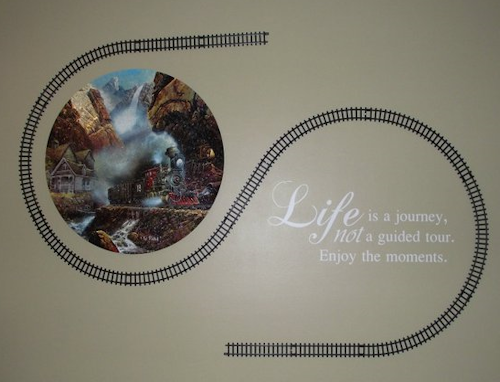 Life Is Journey Enjoy Wall Decals